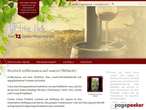 Fritz Huber Weinbau - Furtaller Weine