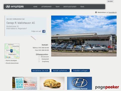 HYUNDAI - Garage R. Wallishauser AG