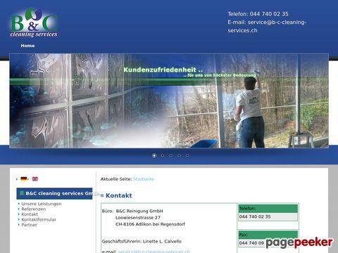 B & C Cleaning Services - Reinigungsinstitut in Adlikon bei Regensdorf