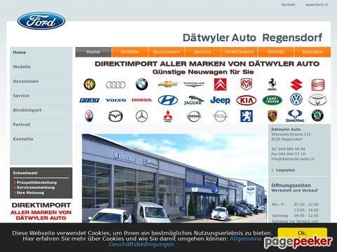 Dätwyler Auto, Ford und Maserati, 8108 Dällikon