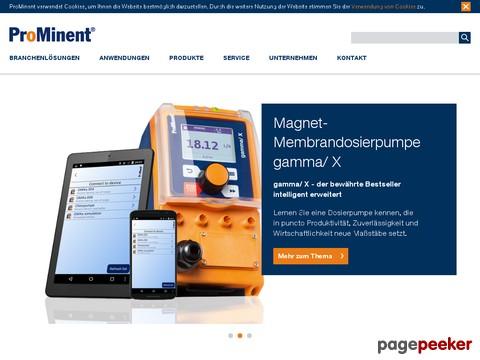 ProMinent Dosiertechnik AG