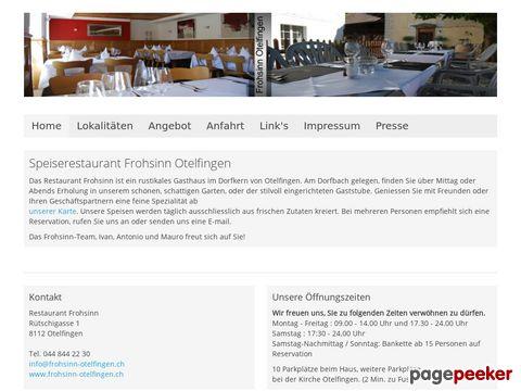 Restaurant Frohsinn (Otelfingen ZH)