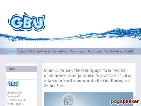 GBU Service GmbH - Reinigung und Gebäude Service