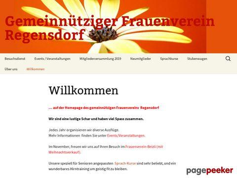 Frauenverein Regensdorf