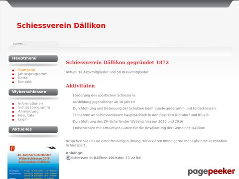 Schiessverein Dällikon (SV Dällikon)