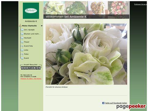 Ambiente K -Floristik für diverse Anlässe (Boppelsen ZH)