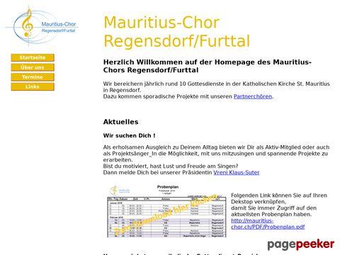 Mauritius-Chor Regensdorf/Furttal
