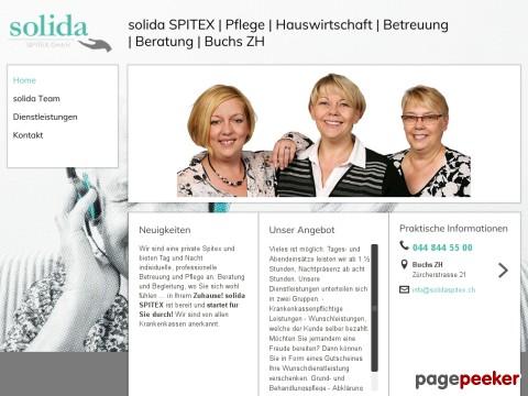 solida SPITEX | Pflege |Hauswirtschaft |Betreuung |Beratung | Buchs ZH