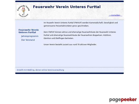 fwvuf.ch - Feuerwehrverein unteres Furttal