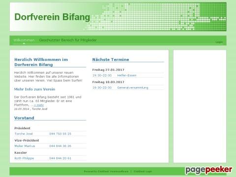 Dorfverein Bifang (Dänikon ZH)