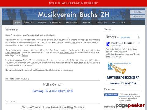 Musikverein Buchs ZH