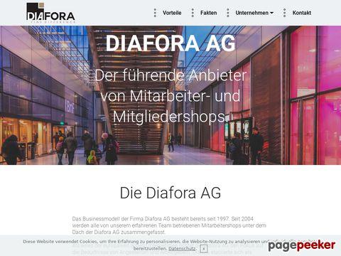 Diafora AG - massgeschneiderte Produkte aus der Informatik und Unterhaltungselektronik