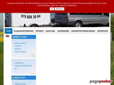 dein-mietbus.ch - Kleinbus mit Fahrer in Zürich mieten