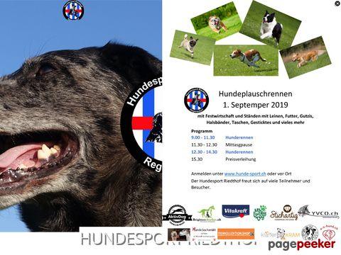 Hundesport Riedthof Regensdorf