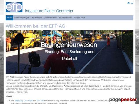 EFP Ingenieure Planer Geometer SIA