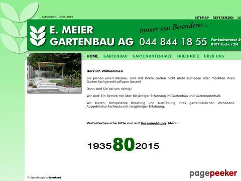 E. Meier Gartenbau AG, 8108 Dällikon