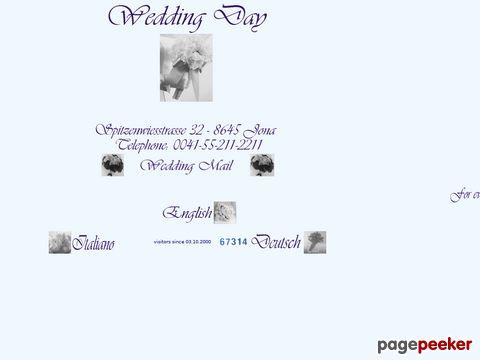 Wedding Day - Hochzeitsorganisation