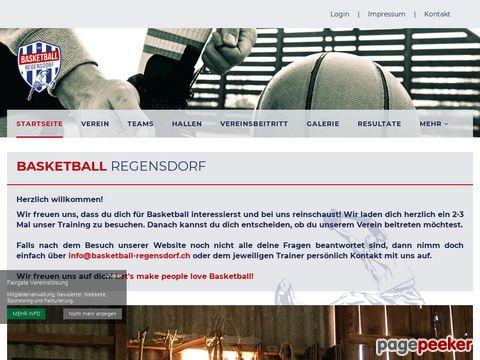 Basketball Regensdorf - für Frauen und Männer jeden Alters