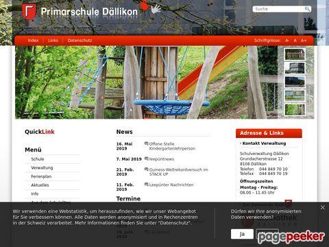 Primarschule Dällikon