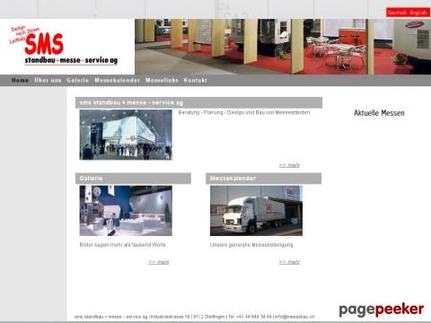 sms standbau + messe - service