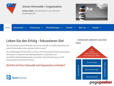 Grimm Informatik + Organisation