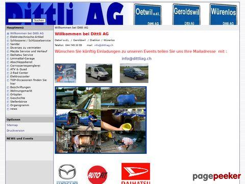 Dittli AG - Daihatsu Vertretung (Würenlos)