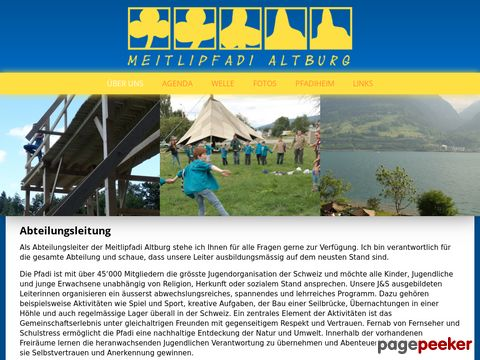 Meitlipfadi Altburg