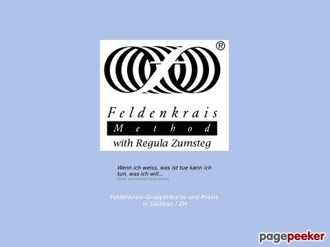 Feldenkrais-zh.ch - Feldenkrais mit Regula Zumsteg (im Kanton Zürich)