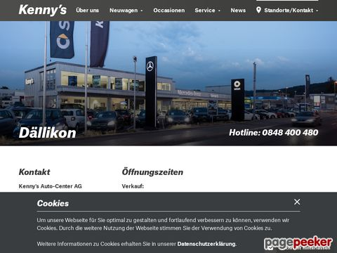 Kennys Auto-Center AG - Mercedes-Benz smart in Dällikon Neuwagen Occasionen Service