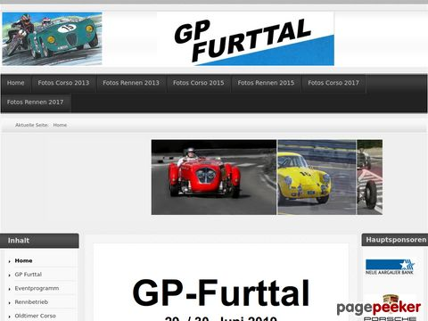 GP-Furttal - Oldtimer Performance Day