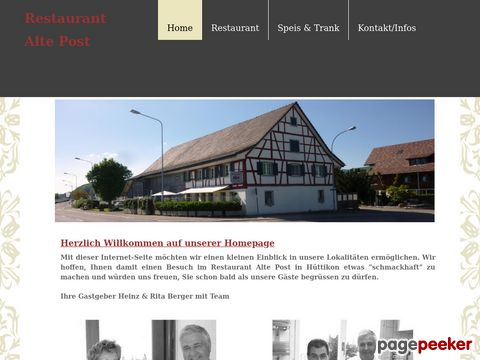 Restaurant Alte Post (Hüttikon ZH)