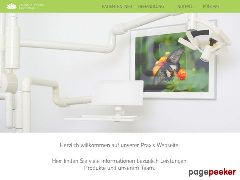 Zahnarzt Forberger (Regensdorf)