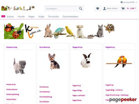 huustiershop.ch - Onlineshop für Tierzubehör