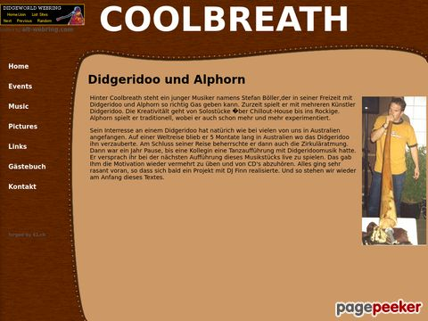 COOLBREATH :: Didgeridoo und Alphorn