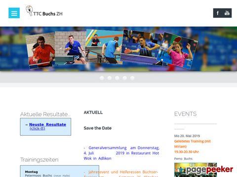 Tischtennisclub Buchs ZH - TTC Buchs + TTC Regensdorf