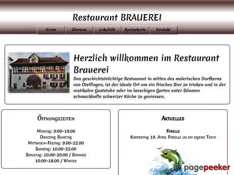 Restaurant Brauerei (Otelfingen ZH)