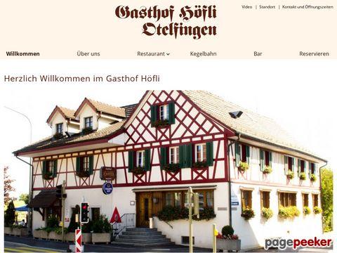 Restaurant Hoefli (8112 Otelfingen)