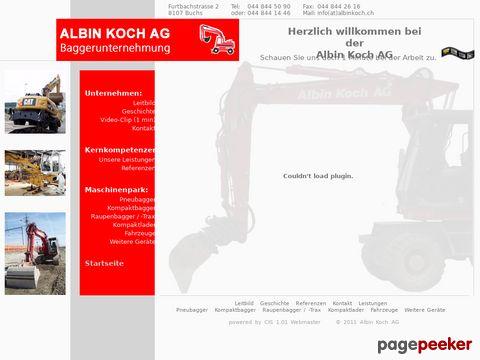 Albin Koch Baggerunternehmung