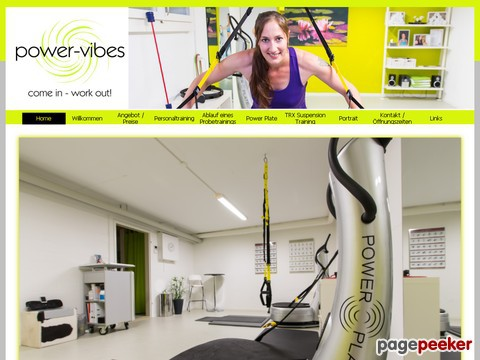 power-vibes - Power Plate und TRX Suspension Training Studio in Würenlos