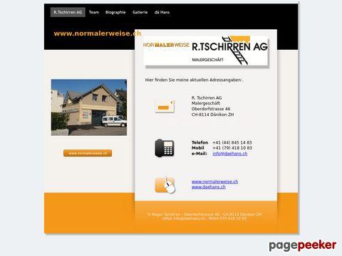 Malergeschäft  R.Tschirren AG
