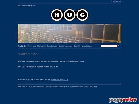 Hug AG Dällikon - Ihr Stahlrohrspezialist!