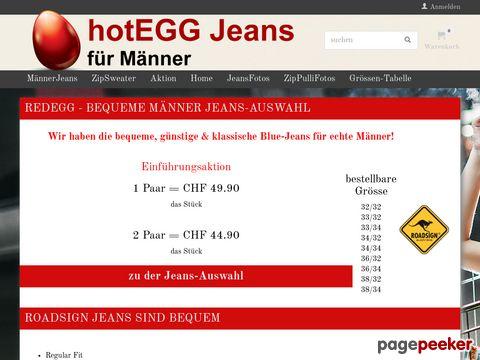 hotEGG Jeans for Men