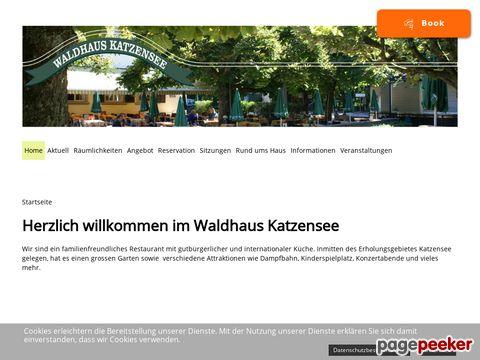 Waldhaus Katzensee (am Katzensee, nähe Regensdorf ZH)