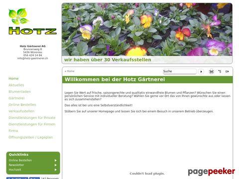 Gärtnerei Hotz AG in Würenlos / AG