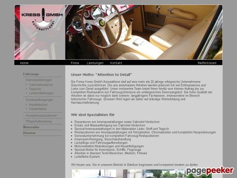 Kress GmbH Autosattlerei in Dänikon