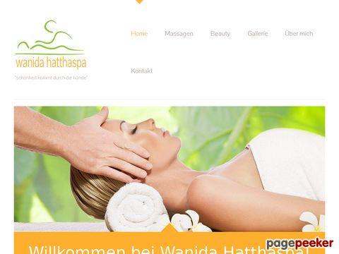 Wanida Hatthaspa - Massage & Kosmetik Regensdorf