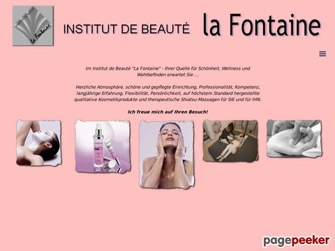 Institut de Beauté La Fontaine - Kosmetik und Shiatsu