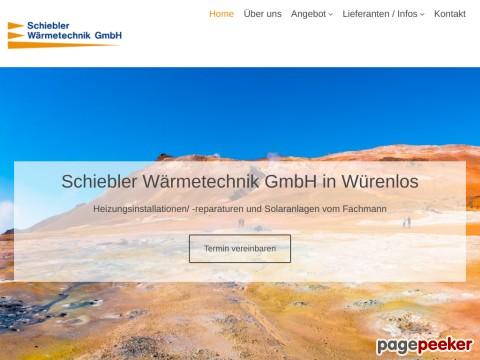 Schiebler Wärmetechnik GmbH | Würenlos Heizungsinstallationen/-reparaturen | Solaranlagen
