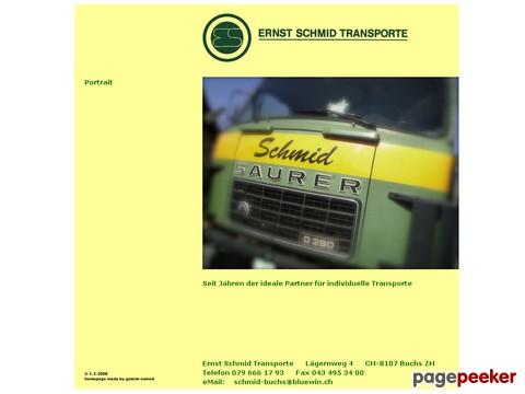 Ernst Schmid Transportunternehmen in Buchs ZH