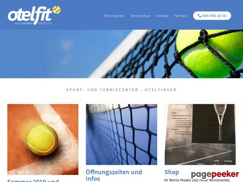 Sportcenter Otelfit - Sport- und Tenniscenter in Otelfingen